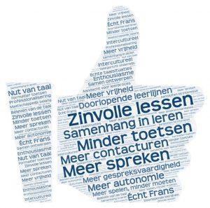 Frans_WordArt_thumb_up_Zinvolle_lessen