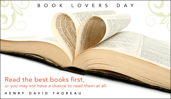 Book Lovers Day - Read best books first